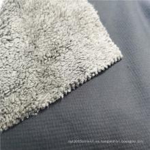 100% poliéster 75D / 72F tela de lana fría con aislamiento térmico