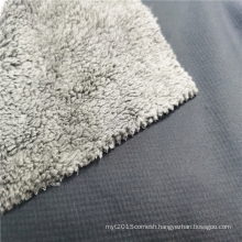 100% Polyester 75D/72F Thermal Insulation Cold Fleece Fabric
