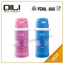 2014 neue Art Edelstahl Pink personalisierte Isolierflasche für Kinder