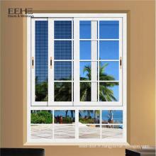 Fenêtres en aluminium coulissantes standard avec système de fenêtre et porte en verre à l'épreuve des balles