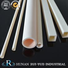 Zirconia / tubo cuadrado de cerámica del alúmina / tubo cuadrado de cerámica