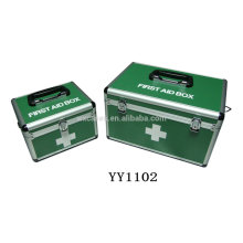 2-in1-medizinische Aluminiumkasten kann Frachtkosten sparen.