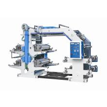 Beschichtetes Kraftpapier in Rollenflexodruckmaschine