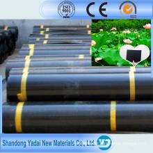 Geomembrana de HDPE / plástico preto
