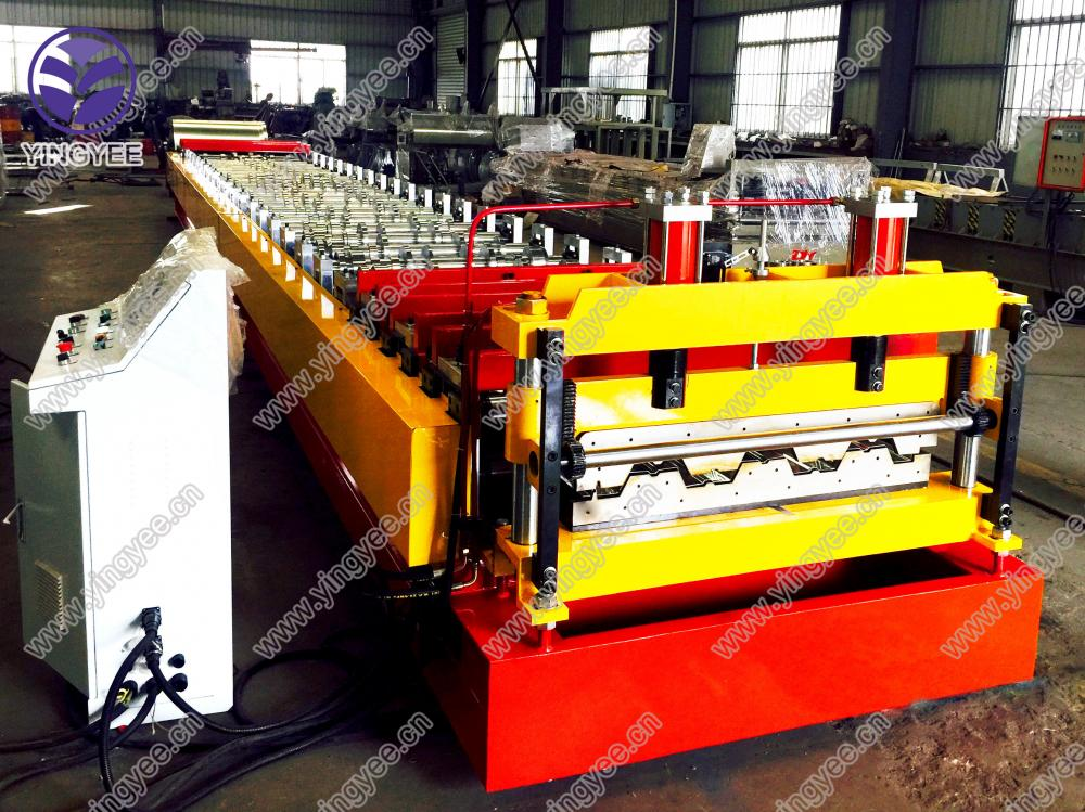 High Quality Deck Roll Forming Machine From Yingyee09