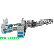 Three-layer ABS&HIPS Sheet Co-extrusion line