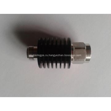 10W RF фиксированный коаксиальный аттенюатор