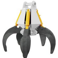 360 degree Rotating Multi Peel hydraulic Grab