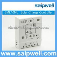 Contrôleur de charge de panneau solaire Pwm 12v 10a
