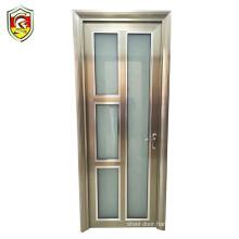 Sri lanka commercial building used aluminium profile door for bathroom