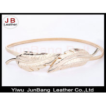Fashion Lady Decorative Metal Thin Belt