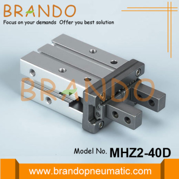 SMC Type MHZ2-40D Parallel Type Pneumatic Gripper Cylinder
