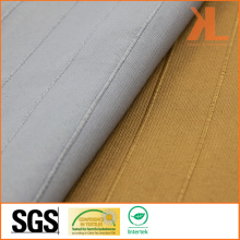 Polyester Wide Width Inherently Fire Retardant Gold Striped Woven Fireproof Curtain Fabric