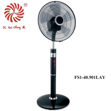 Электрический вентилятор с 360 градусами вибрации со светодиодным дисплеем