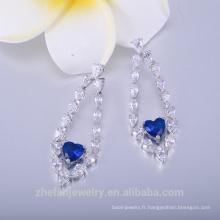 fabricants de bijoux de mode 22k boucles d'oreilles plaqué or pour les femmes