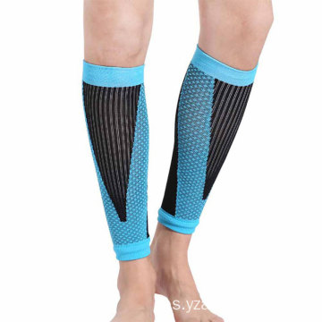 Custom Breathable Sports Safety Running Compression Sleeves Soft Bike Knee Shin Pads