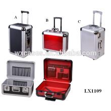 El tamaño más popular de varios moldeado caja de equipaje de aluminio con alta calidad