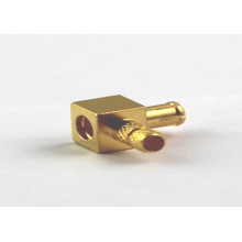 MCX Rf Coaxial Cable Right Angle Connector