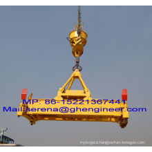 Hook Type Hydraulic Rotating Telescopic Container Spreader resonable price