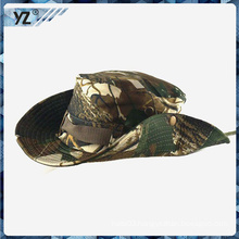 Classical Design printed bucket hat with string stopper