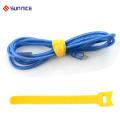 Подгонянный напечатанный крюк и Петля кабель галстук цвета