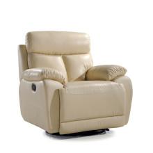 Canapé salon avec canapé moderne en cuir véritable (766)