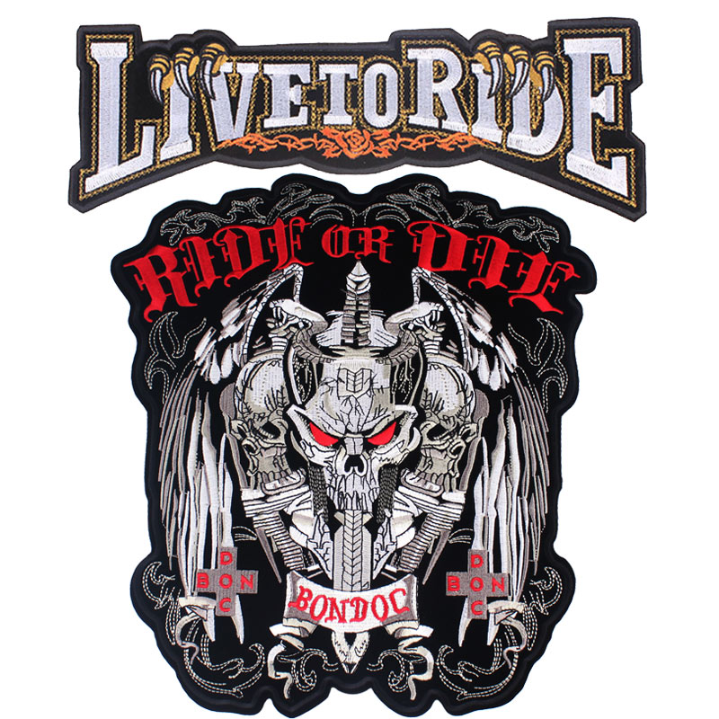 Motorcycle Lroning Patches