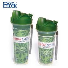 garrafas de água reutilizáveis baratos do pp do produto comestível