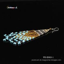 Neuesten Mode heißen handgemachte kostenlos Samen Perle Eearring Designs