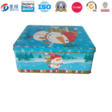 High Quality Packing Gift Box Rectangle Shaped Tin Can