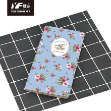 Caderno de costura simples de estilo natural