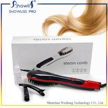 Elctric LCD Screen Display Hair Straightener Comb