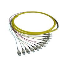 Fc fibre pigtail cordon de raccordement, fibre patch cable / cable bundle 12 core 24 core