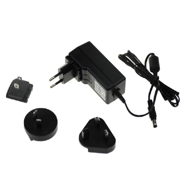 Interchangeable wall adapter
