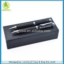 Luxury carbon fiber designed Featured roller metal engraved pens