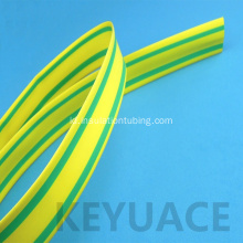 Kuning Hijau Heat Shrink Sleeve untuk Earth Wire