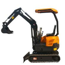 1.6ton mini excavadora micro excavadora excavadora