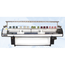 Double Carriage 4 System Flat Knitting Machine