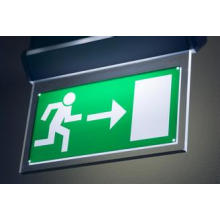 Kundengebundene Aluminiumacryl LED-Licht-Richtungszeichen-Verkehrszeichen