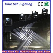 2015 Китай hotsale RGBW 4in1 4x10w узкий угол луча светодиодные прожекторы