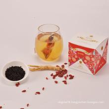 Herbal Tea Oriental Ginseng Dried Red Ginseng Goji Tea