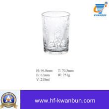 Стеклянная чашка Стеклянная посуда Форма стекла Чашка чая Чашка Хорошая цена Kb-Hn0815