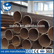 Black welded structural ERW Q345 steel pipe/ tubes