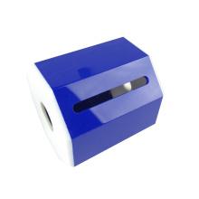 Blue Color Hotel Toilet Napkin Paper Tissue Box AcrylicHome Storage