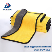 Coral Fleece Microfiber Cleaning Towel Washing Cloth for Car Cleaning