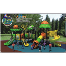 Outdoor Amusement Equipment With Slides