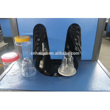 semi automaic plastic blow moulding machine with can