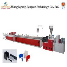 Chaîne de production d'extrusion de profil de PVC Chaîne de production de PVC