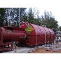 Máquina plástica reciclada capacidad 8T / 9T / 10T sin la emisión y el gas de la combustión