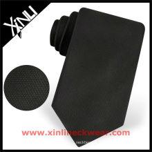 Corbata negra total sólida